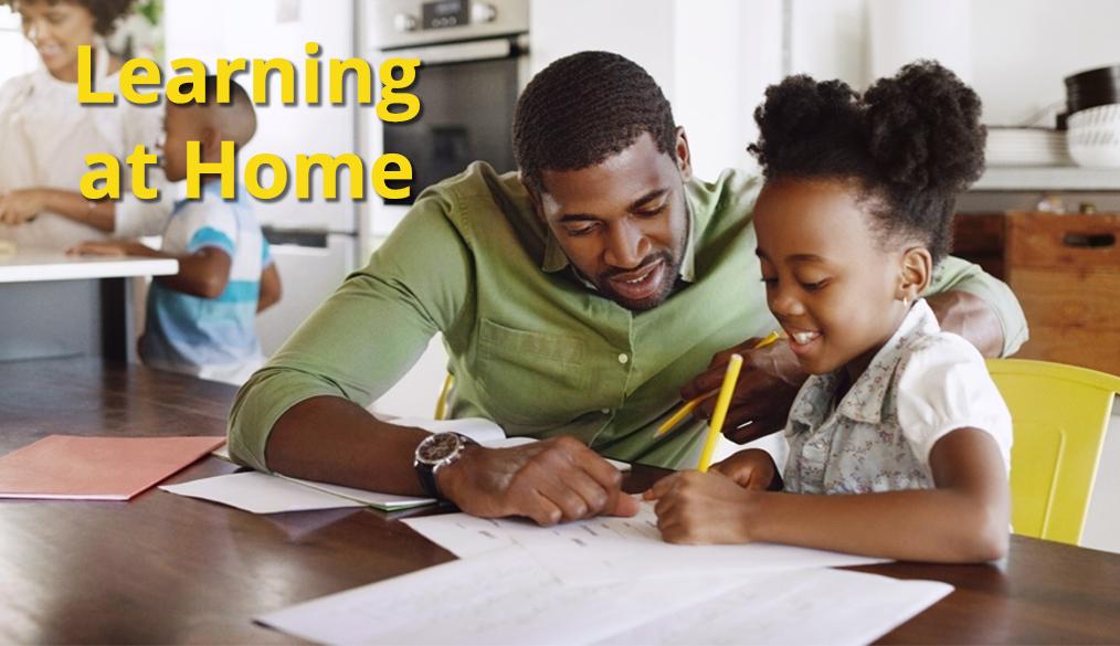 Learning at home || Aprendiendo en casa