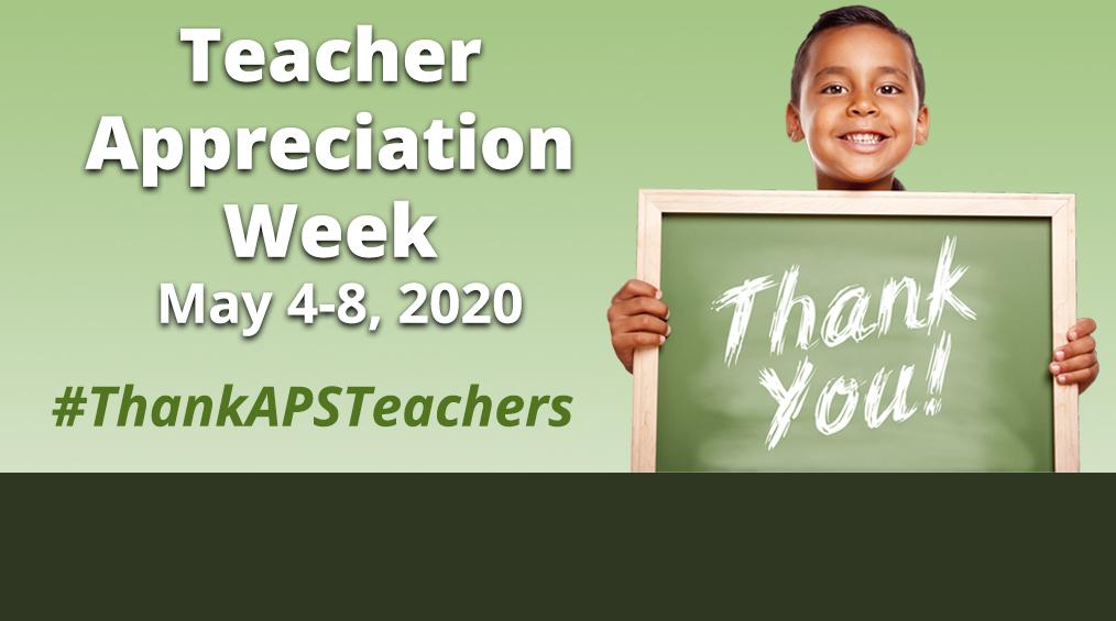 Thank you to our APS Teachers! ||¡Gracias a nuestros maestros de APS!