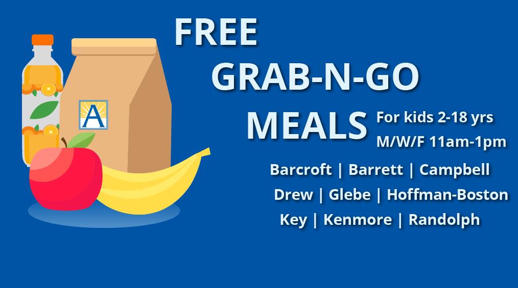 Grab-and-Go Meal Schedule ||El Horario de Comidas para Llevar