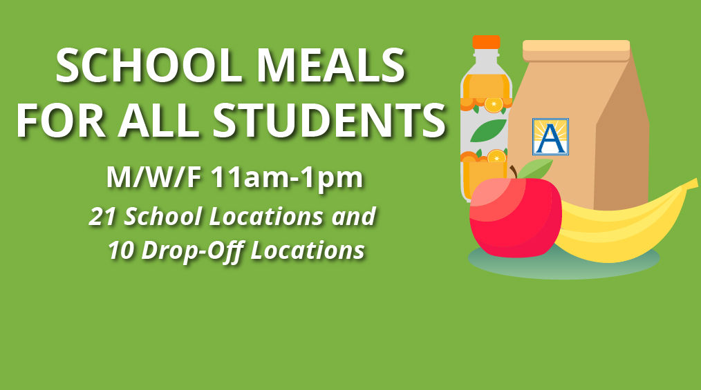 School meals for all students || Almuerzo para todos los estudiantes