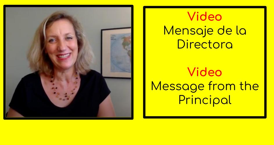 Mensaje de la Directora || Message du directeur