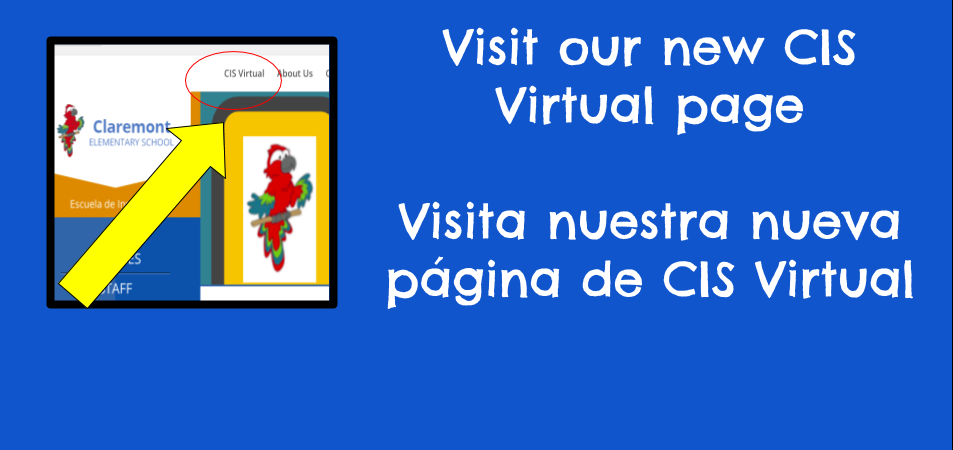 Visit our new CIS Virtual Section || Visita nuestra sección de CIS virtual