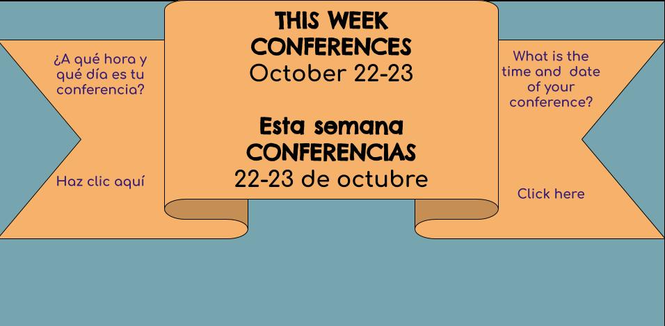 Conferences || Conferencia