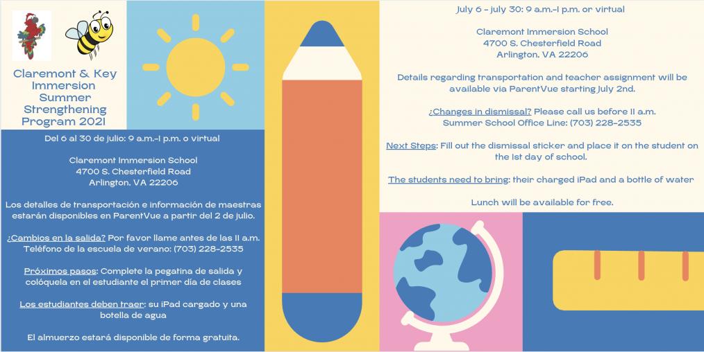 Claremont e o Programa de Fortalecimento do Verão